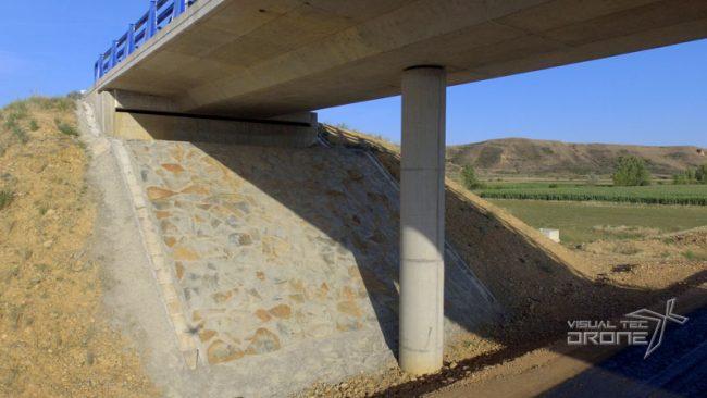 Obra civil revisión de pilares y puentes de VTDrone