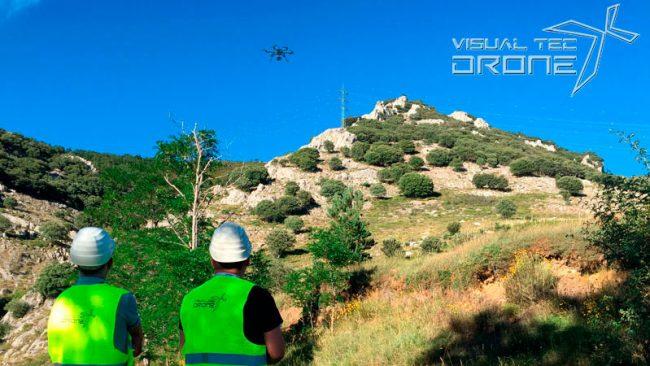 Instalaciones energéticas, revisiones termográficas de visualtecdrone